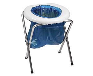 Emergency Portable Camping Stool Toilet Commode