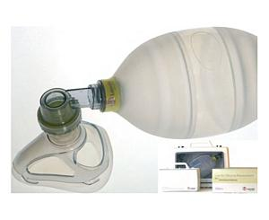 Adult Silicone Resuscitator Complete in Compact Case