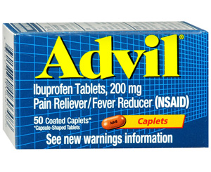 Advil Tablets, 200 mg , Bottle/50
