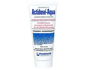 Actidose-Aqua Activated Charcoal Suspension, 15g
