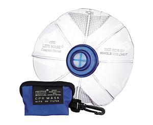 CPR Mask Lifemask in Keychain Bag, Adult, Royal