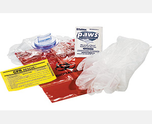 EZ CPR Rescue Pack- case of 12