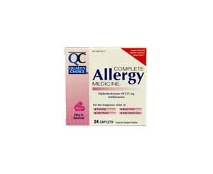 Allergy & Cold Antihistamine Medicine