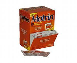 Motrin IB 200 mg - Packets of 2 Caplets