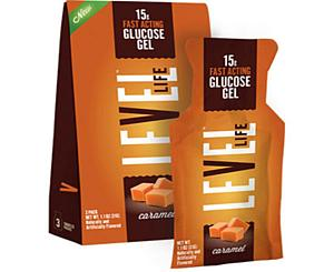 Level One Glucose Glutose Gel, 15g, 3/PK, Caramel