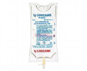 Lidocaine HCl 0.4% w/ Dextrose 5% Injection, USP 4mg/mL - 250mL Bag