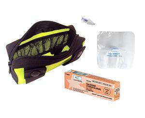 Fully Stocked Naloxone Kit in Yellow Pouch