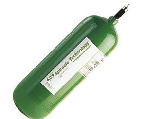 EE Lite Carbon Fiber Oxygen Cylinder CGA 870 Post Valve