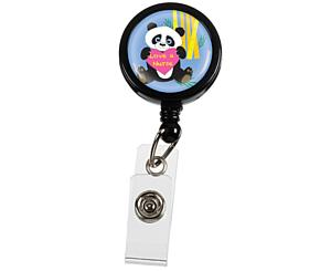 Retracteze ID Holder, Bulk, Panda (Love a Nurse), Print