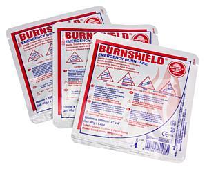 """Burn Dressing, 4"""" x 4"""", Dispenser Pack / 15"""
