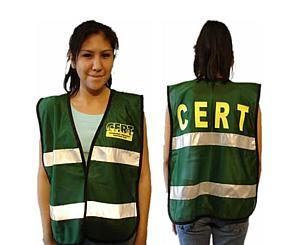 C.E.R.T. Mesh Vest with Reflective Stripe