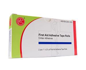 Adhesive Tape Rolls, 1 x 2.5 tds, 2pcs