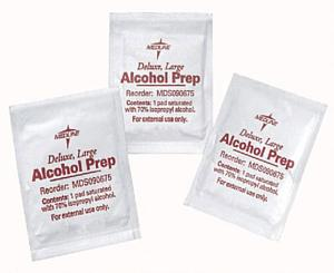 Alcohol Prep Pads, 10 pcs/box