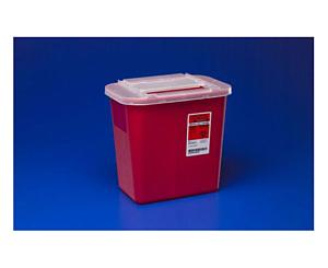 Sharps-A-Gator Red Sharps Container - 2 Gallon
