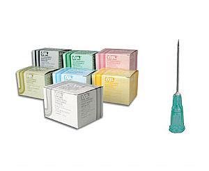 """Hypodermic Needles 20G X 1/2"""" , Box/100"""