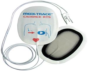Medi-Trace Cadence Pediatric Multi-Function Defibrillation Electrodes, Radiotransparent 22770P- 5/CS Case