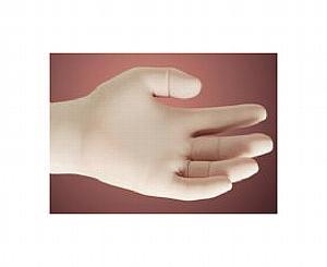 Lightly Powdered Latex Exam Gloves - Medium , Box/100