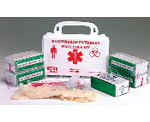BLOOD-BORNE PATHOGEN PROTECTION KIT BBP KIT