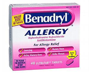 Benadryl Allergy Ultratab Tablets , Box/48