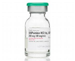 Dopamine HCl Injection, USP 40mg/mL - 5mL Vial