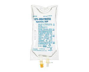 Dextrose 10% IV Solution, 250mL