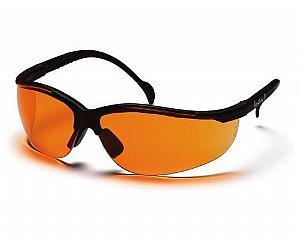 Venture II Safety Glasses - Orange Lens