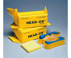 Dispos-O-Bag Head Immobilizer w/ Straps Pair