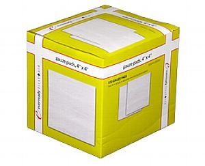 "Gauze Pads 4"" x 4"", Sterile, Box of 100"
