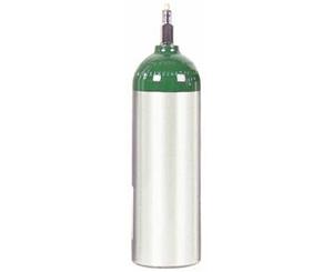 Aluminum Oxygen Cylinder, Size Jumbo D / MJD