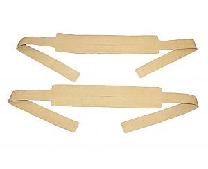 KED Head / Chin Replacement Straps - Tan Pair