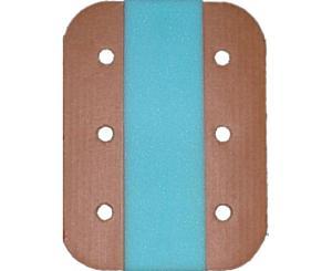 """Cardboard Center Foam Folding Splints - 12"""""""