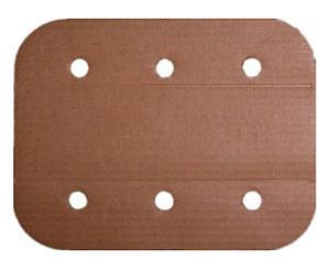 """Cardboard Plain Folding Splints - 24"""""""