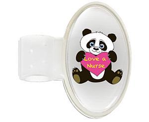 Domed ID Tag, Panda (Love a Nurse), Print