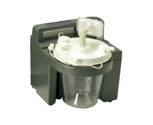 Compact Battery Operated Suction Unit / Pump, Complete