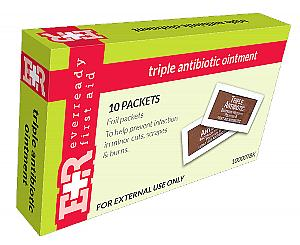 Triple Antibiotic Ointment Packets, 0.9g, 10's