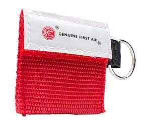 Mini CPR Key Ring w/ One Way Valve