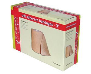 "Self-Adherent Bandage Rolls, 3"" x 5 yd"
