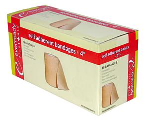 "Self-Adherent Bandage Rolls, 4"" x 5 yd"