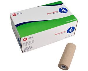 """Sensi-Wrap Self-Adherent Bandage Rolls, 6"""" x 5 yds"""
