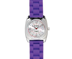 Braided Band Fashion Watch, Purple
