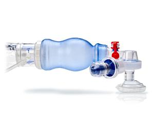 Lifesaver Disposable Manual BVM Resuscitator, Bag, Mask & Diverter, Case/6