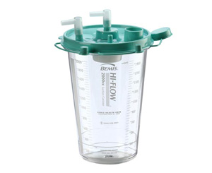 Hi-Flow Suction Canister, 1200cc