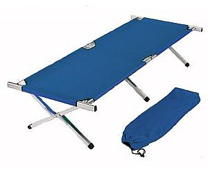 DELUXE MILITARY STYLE ALUMINUM FOLDING COT HEAVY DUTY