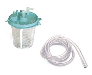 Disposable Collection Canisters w/Filter & Tubing