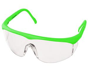 Colored Full-Frame Adjustable Eyewear, Neon Green