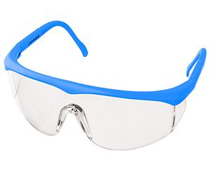 Colored Full-Frame Adjustable Eyewear, Neon Blue