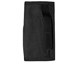Horizontal Belt Nylon Holster, Black