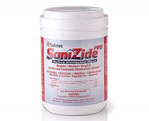 SaniZide Pro 2-Minute Surface Disinfectant, Case < Safetec