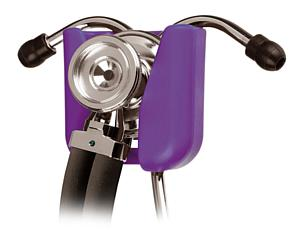 Hip Clip Stethoscope Holder, Purple