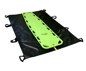 Bariatric Soft Transfer Stretcher, UP, Black